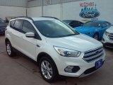 2017 White Platinum Ford Escape SE #114544444