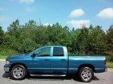 2004 Atlantic Blue Pearl Dodge Ram 1500 SLT Quad Cab #114544395