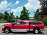 2006 Flame Red Dodge Ram 1500 Laramie Mega Cab #114544393