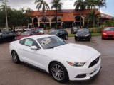 2016 Oxford White Ford Mustang EcoBoost Premium Coupe #114544483