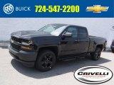 2016 Black Chevrolet Silverado 1500 Special Ops Edition Double Cab 4x4 #114544669