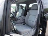 2016 Chevrolet Silverado 1500 Special Ops Edition Double Cab 4x4 Dark Ash/Jet Black Interior