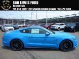 2017 Grabber Blue Ford Mustang GT Coupe #114571241