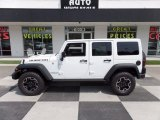 2016 Bright White Jeep Wrangler Unlimited Rubicon 4x4 #114571343