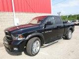 2012 Black Dodge Ram 1500 ST Quad Cab 4x4 #114571307