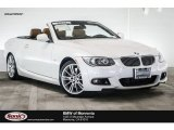 2013 Mineral White Metallic BMW 3 Series 335i Convertible #114595025