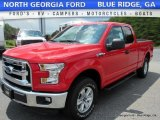 2016 Race Red Ford F150 XLT SuperCab 4x4 #114594828