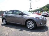2014 Sterling Gray Ford Focus Titanium Hatchback #114623928