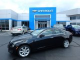 2013 Black Diamond Tricoat Cadillac ATS 2.0L Turbo AWD #114623974