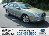 2009 Moss Green Metallic Ford Fusion SEL #114624005