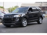 2017 Shadow Black Ford Explorer XLT 4WD #114623958