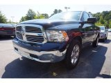 2014 True Blue Pearl Coat Ram 1500 Big Horn Quad Cab #114623941