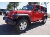 2016 Firecracker Red Jeep Wrangler Unlimited Sport 4x4 #114646150