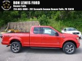 2016 Race Red Ford F150 XLT SuperCab 4x4 #114646117
