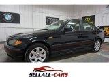 2002 Jet Black BMW 3 Series 325xi Sedan #114645974