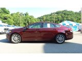 2017 Ruby Red Ford Fusion SE #114646225