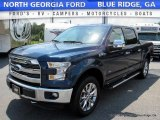 2016 Blue Jeans Ford F150 Lariat SuperCrew 4x4 #114645963