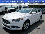 2017 White Platinum Ford Fusion SE #114645961