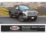 2016 Midnight Black Metallic Toyota Tundra Limited Double Cab 4x4 #114672076