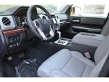2016 Toyota Tundra Limited Double Cab 4x4 Graphite Interior