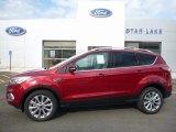 2017 Ruby Red Ford Escape Titanium 4WD #114672278