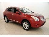 2012 Cayenne Red Nissan Rogue SV AWD #114691844