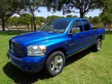 2008 Electric Blue Pearl Dodge Ram 1500 SLT Quad Cab #114691675