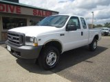 2002 Oxford White Ford F250 Super Duty XL SuperCab 4x4 #114691870