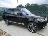 2016 Santorini Black Metallic Land Rover Range Rover Supercharged #114716798