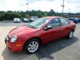 Flame Red Dodge Neon in 2003