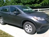 2014 Polished Metal Metallic Honda CR-V LX AWD #114716449