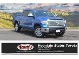2016 Blazing Blue Pearl Toyota Tundra Limited CrewMax 4x4 #114716484