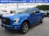 2016 Blue Flame Ford F150 XLT SuperCrew 4x4 #114716440