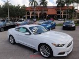 2016 Oxford White Ford Mustang EcoBoost Premium Coupe #114739151