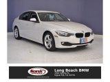 2013 Mineral White Metallic BMW 3 Series 320i Sedan #114752124