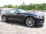 2017 Shadow Black Ford Mustang EcoBoost Premium Coupe #114756109