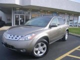 2003 Polished Pewter Metallic Nissan Murano SL AWD #1141317