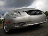2003 Millennium Silver Metallic Lexus SC 430 #114756224