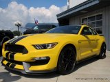 2017 Triple Yellow Ford Mustang Shelby GT350 Coupe #114756007