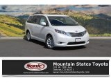 2016 Blizzard Pearl Toyota Sienna Limited #114781317