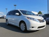 2016 Blizzard Pearl Toyota Sienna Limited AWD #114781599