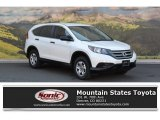 2014 White Diamond Pearl Honda CR-V LX AWD #114781355