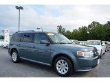 2010 Steel Blue Metallic Ford Flex SE #114781654