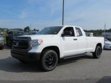 2016 Toyota Tundra SR Double Cab 4x4 Front 3/4 View
