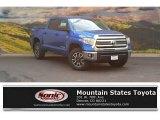 2016 Blazing Blue Pearl Toyota Tundra SR5 CrewMax 4x4 #114815751