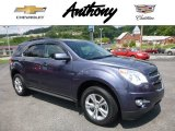 2014 Atlantis Blue Metallic Chevrolet Equinox LT AWD #114816023