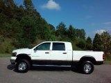 2007 Bright White Dodge Ram 1500 SLT Mega Cab 4x4 #114815709