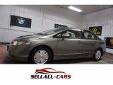 2006 Galaxy Gray Metallic Honda Civic Hybrid Sedan #114815688