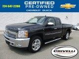 2013 Blue Ray Metallic Chevrolet Silverado 1500 LT Extended Cab 4x4 #114837924