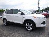 2013 White Platinum Metallic Tri-Coat Ford Escape SE 1.6L EcoBoost 4WD #114837740